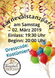 Karnevalsparty @ Tanzschule Michael Höchst
